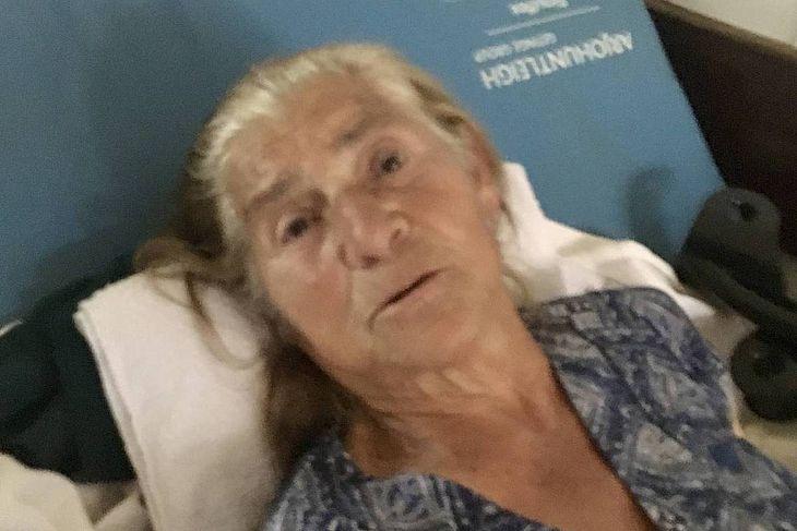 Maria Aparecida Firmo, 78, avó da primeira dama Michelle Bolsonaro