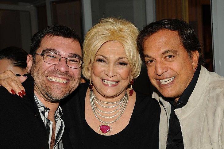 Marcello Camargo, Hebe e Claudio Pessutti