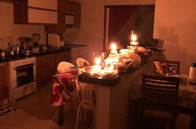 Zona rural de Santana do Mundaú passa mais de 24h sem energia, segundo moradores