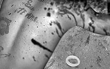 Tatuagem com frase chamou atenção da polícia