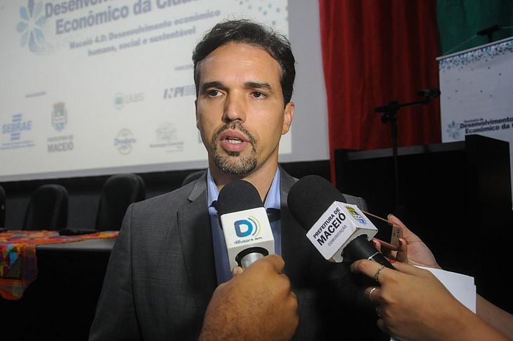 Secretário municipal de Economia, Fellipe Mamede