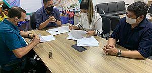 CSA e CRB assinam contratos de patrocínios com o Governo de Alagoas; veja valores