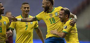 Brasil abre Copa América com vitória sobre a Venezuela: 3 a 0