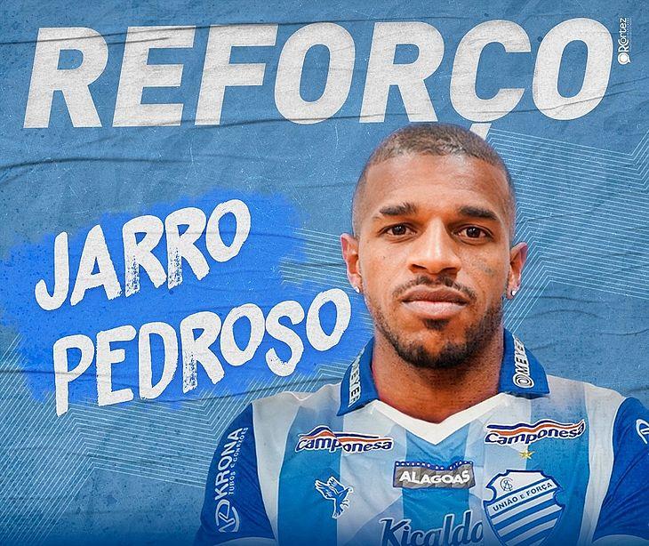 Jarro Pedroso é o novo reforço do CSA para a Série A