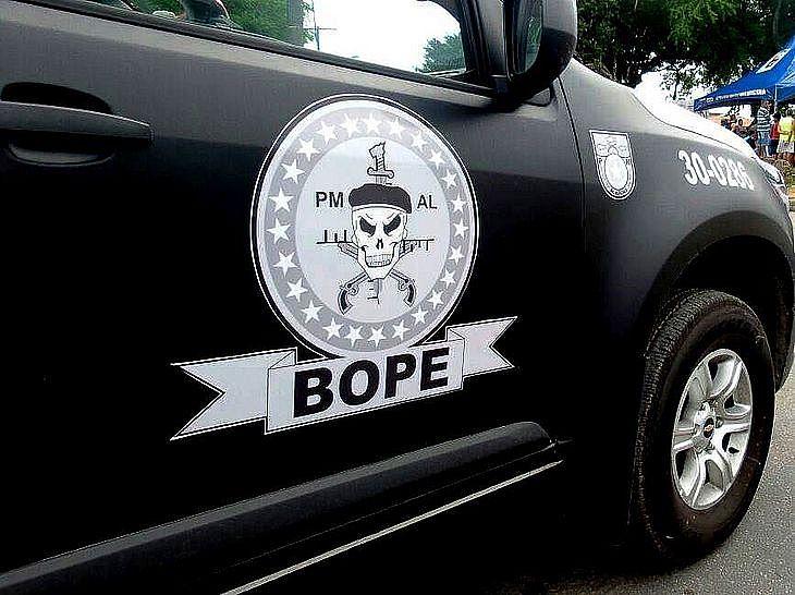 Agentes do BOPE estiveram nas duas ações