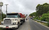 Motociclista morre após bater em caminhão, na BR 316, em Santana do Ipanema