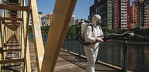 Devido à reabertura, Recife vai desinfectar parques e calçadões