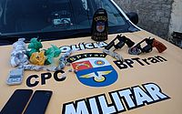 Polícia apreende maconha, cocaína, e armas com suspeito de tráfico em União