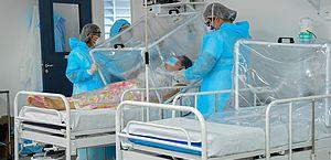 Hospital referência da Covid-19 no Amazonas tem 98% de leitos ocupados