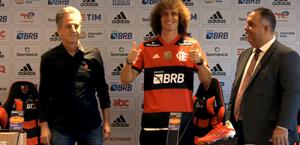 David Luiz chega ao Flamengo e diz que desafio foi diferencial