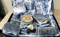 Mulher é presa com sete quilos de cocaína no aeroporto do Recife