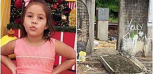Em estado grave na UTI, menina atingida por placa de concreto no Recife se comunica por gestos