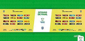 Sorteio coloca CRB x Fortaleza nas oitavas de final da Copa do Brasil; veja confrontos
