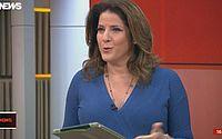 Christiane Pelajo se irrita e ameaça deixar jornal em vídeo vazado; assista