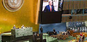 ONU: Trump exige ação contra China por coronavírus; Xi pede cooperação