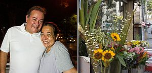 Em vez de flores, marido abre floricultura para surpreender esposa internada