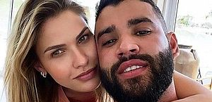 Gusttavo Lima e Andressa Suita viajam até Angra para tentar reconciliação, diz colunista