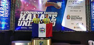 Alagoanos conquistam medalhas em competições de Karatê, em AL e SP