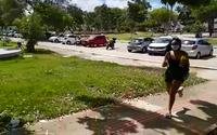 Enem: estudante corre e consegue entrar faltando 20 segundo para o portão fechar; assista