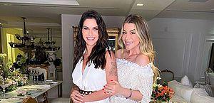 Após assinar divórcio, Andressa Suita curte festa com os amigos; vídeo