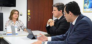 Procuradora do MPT, Rosemeire Lobo, recebeu representantes da Braskem