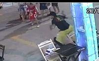 Imagens fortes: vídeo mostra momento em que PM de AL é morto em Porto de Galinhas