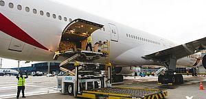 Segundo a Vale, os kits foram transportados em 417 caixas — pesando no total 6,3 toneladas — e embarcados no Aeroporto Internacional de Guangzhou Baiyun, na província chinesa de Guangdong, na madrugada de domingo (29)
