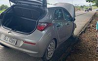 Adolescentes de 17 e 13 anos são apreendidos fugindo em carro roubado
