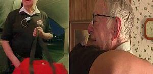 Entregador de pizza de 89 anos recebe gorjeta surpresa de R$ 70 mil