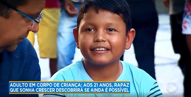 Thiago diz que seu maior sonho é crescer