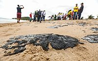 Marinha demonstra o que pode ter feito óleo se espalhar pela costa do Nordeste