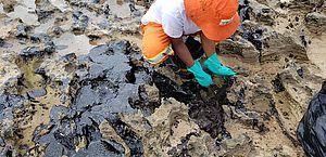 Fragmentos de óleo ainda poluem praias alagoanas, diz Marinha