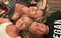 Xuxa, Angélica e Eliana publicam fotos e vídeos de reencontro