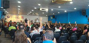 Fim da greve foi votado em assembleia geral