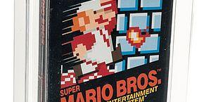 Game Super Mario Bros. de 1986 é leiloado por preço recorde nos EUA
