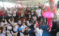 Maceió Rosa mobiliza população para prevenção do câncer de mama