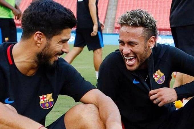 Neymar e Suárez mantiveram forte amizade na Catalunha