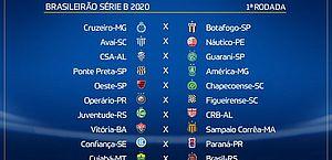 CBF divulga tabela da Série B do Campeonato Brasileiro 2020