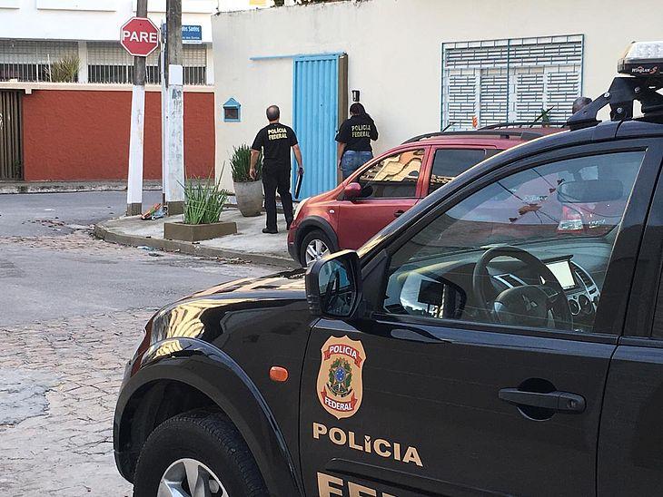 PF cumpre mandados em Maceió e Marechal Deodoro