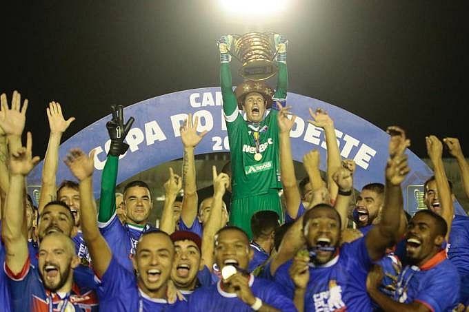 Fortaleza é o atual campeão da Copa do Nordeste