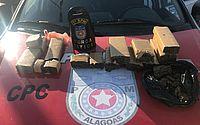 Polícia apreende cerca de 5 quilos de maconha no Benedito Bentes
