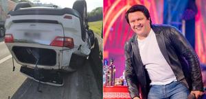 Cantor Giovani, da dupla com Gian, sofre acidente de carro em SP