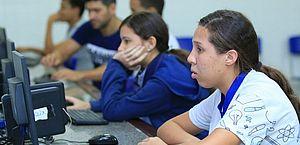 Pré-matrícula on-line para novatos da rede estadual começa quinta-feira (21)