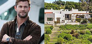 De volta à Austrália, Chris Hemsworth coloca mansão à venda por mais de R$ 25 milhões