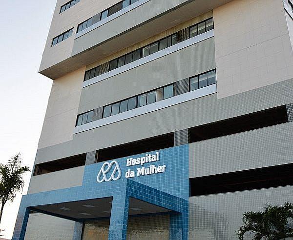 A mulher foi levada para o Hospital da Mulher