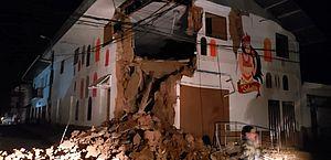 Tremor foi sentido no Brasil também