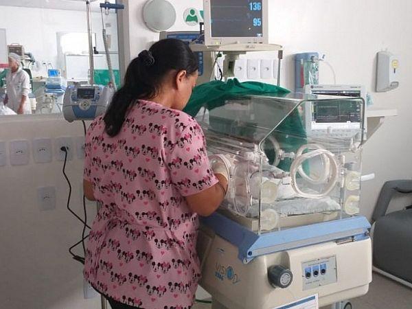O bebê abandonado em Maceió foi levado para a Maternidade Santa Mônica