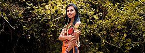 Mulher, indígena e primeira transexual da aldeia: conheça Katryna MalBem