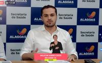 Covid-19: Alagoas tem 12 casos confirmados e 302 em investigação