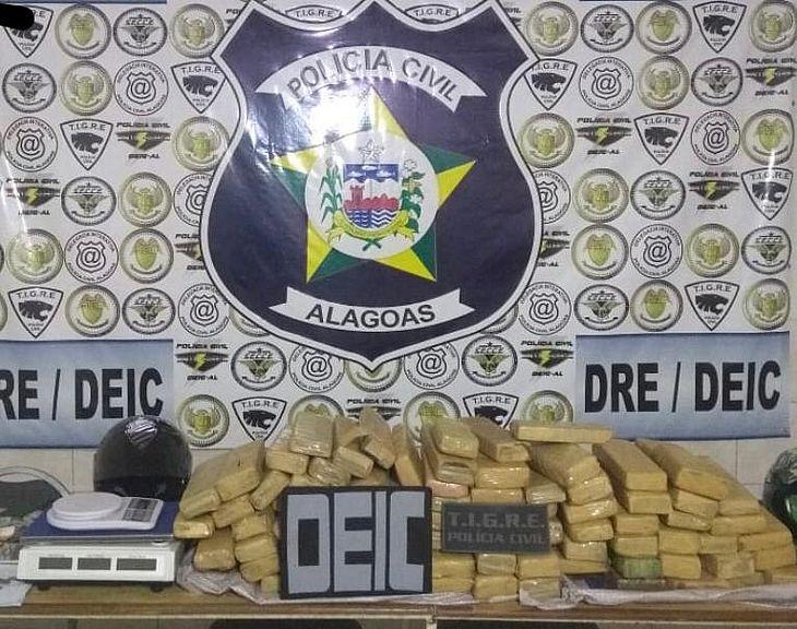 Drogas foram encontradas em casa no Cidade Universitária
